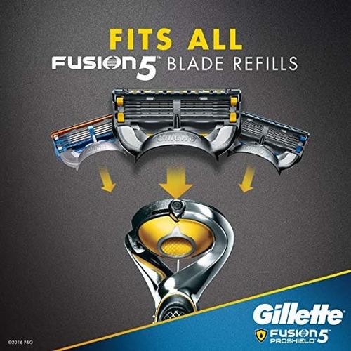 gillette fusion5 proshield  paquete de 6