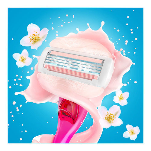 gillette venus spa máquina para afeitar + 1 repuesto - kit