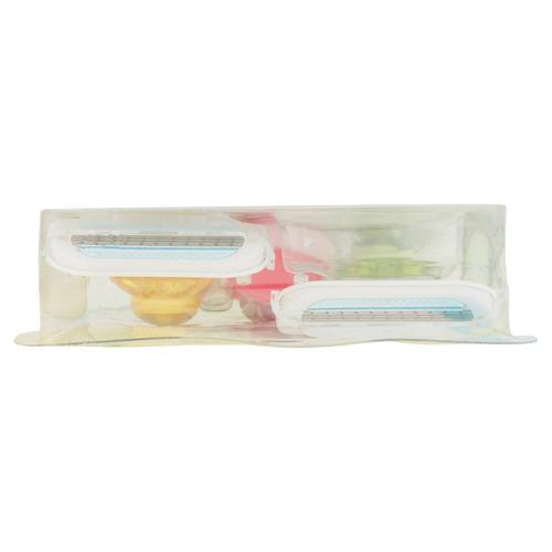 gillette venus tropical rasuradoras desechables, 3 cuenta
