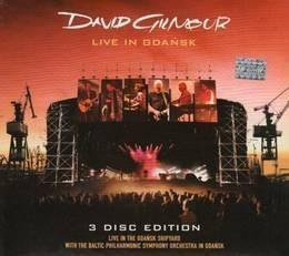 gilmour david live in gdansk cd x 2 + dvd nuevo