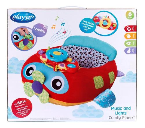 gimansio 3 en 1 bebé playgro comfy car y comfy plane