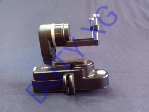 gimbal 2axis for go pro,  sjcam or similar dimencions