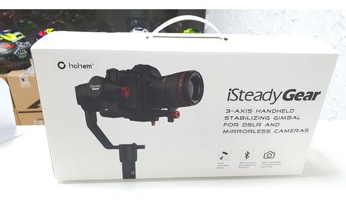 gimbal para câmeras dslr ate 2.5 kilos isteady gear original