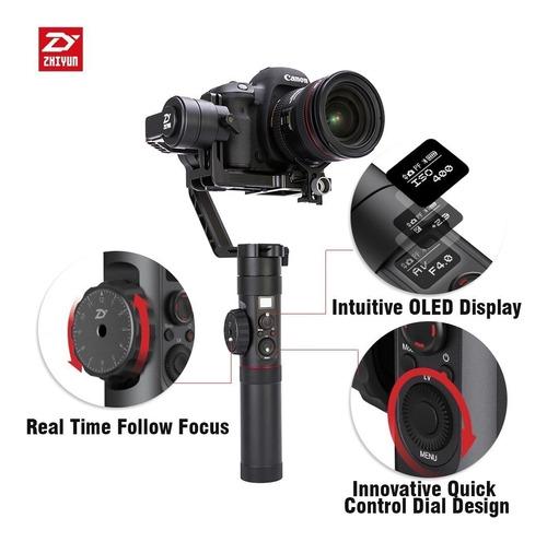 gimbal zhiyun crane ii 2 follow focus 3,2kg com nota fiscal