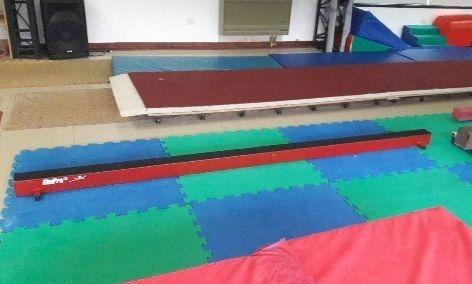 gimnasia artística, viga de equilibrio