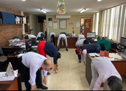 gimnasia laboral - pausas activas