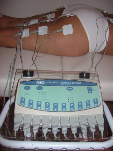 gimnasia pasiva portátil 20 electrodos profesional