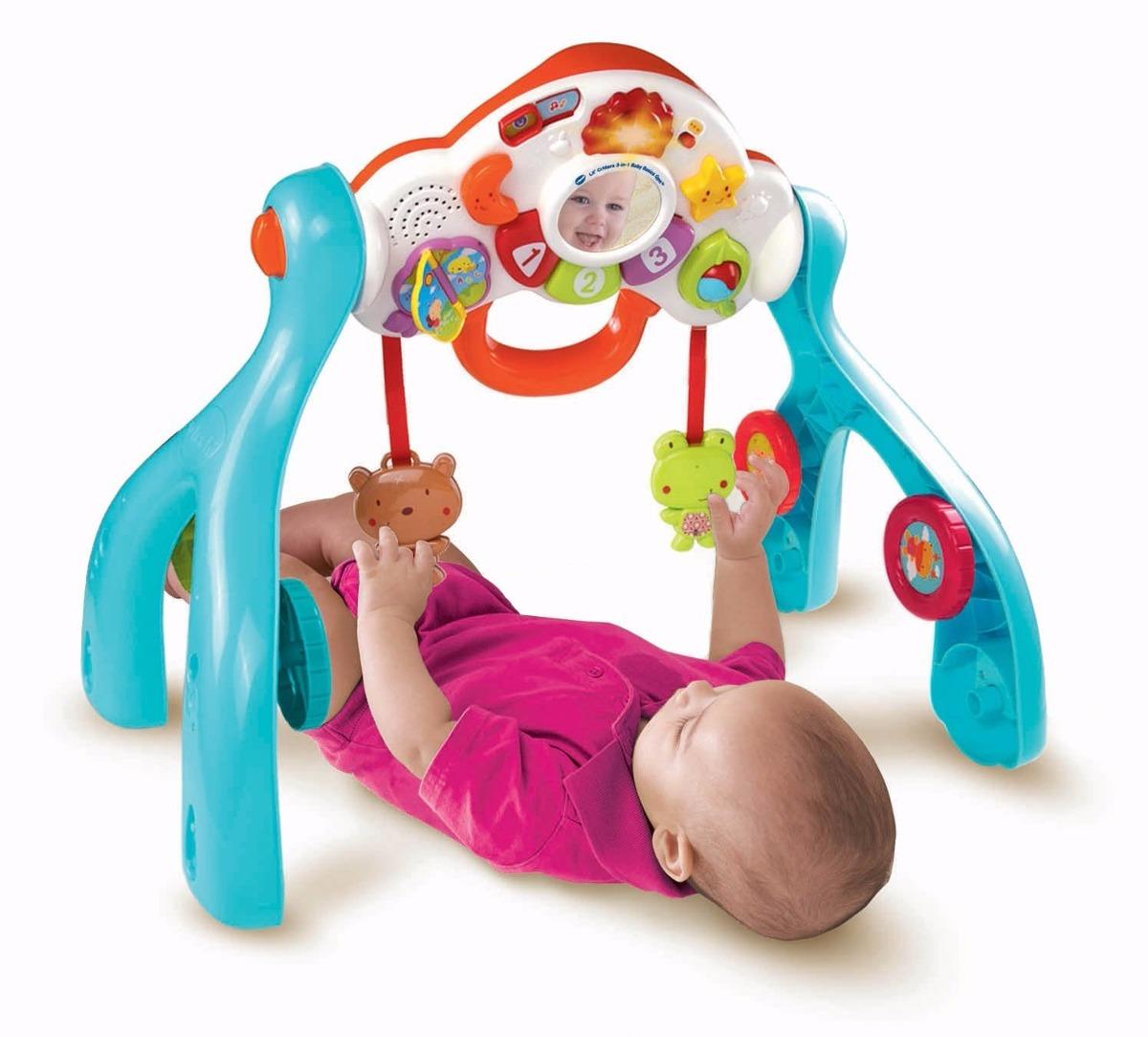 Gimnasio andador para bebe con luces musica vtech 3 en 1 k for Bureau 3 en 1 vtech