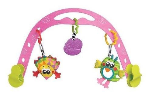 gimnasio bebe animal friends travel play arch playgro 184563