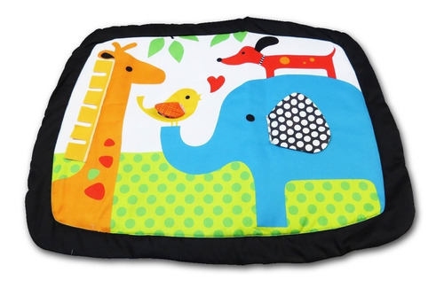 gimnasio bebe baby jungle + piso encastrable  de goma