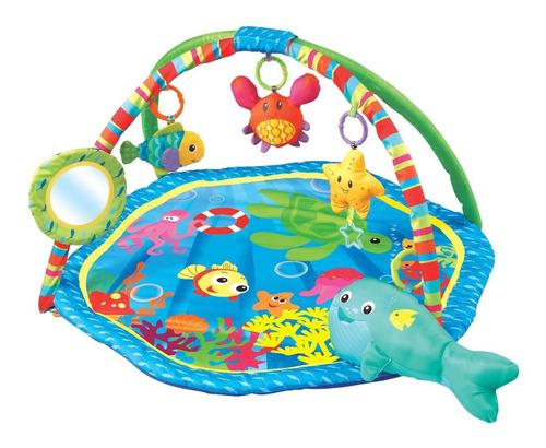 gimnasio bebé felcraft fitch baby bajo el mar