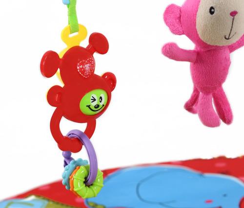 gimnasio bebe glee a8105 c/ sonajero mordillo peluches