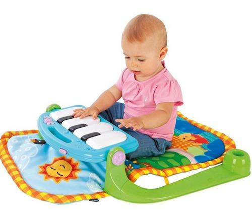gimnasio bebe manta didactica fitch tortuga piano super promo