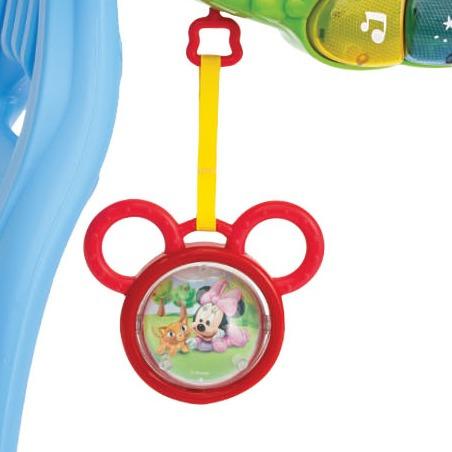 gimnasio bebé mickey 3 en 1 música y luces disney t14638