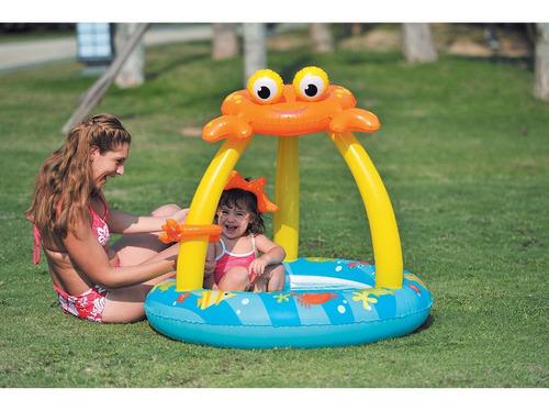 gimnasio bebe pelotero pileta inflable jilong cangrejo techo