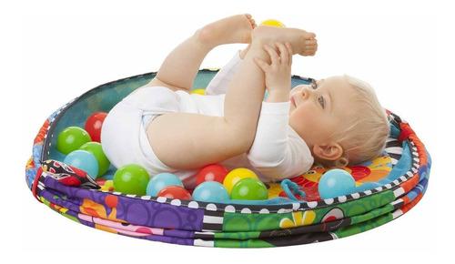 gimnasio bebé playgro ball activity nest gym pelotero