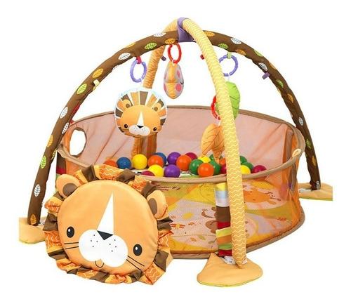 gimnasio bebe tapete pelotas aeiou actividades leon