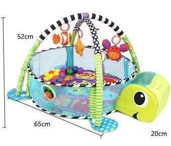 gimnasio corral tortuga piscina de pelotas