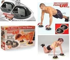 gimnasio en casa push up para pecho, brazos, espalda, y much