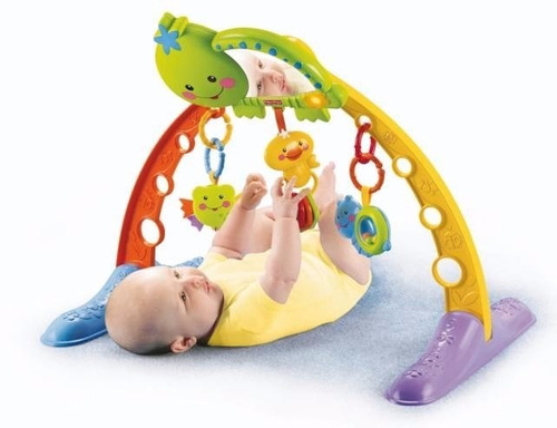 gimnasio fisher price tortuga 2 en 1 musical luz mordillo