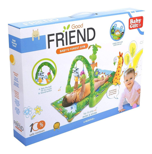 gimnasio forest good friend 3059