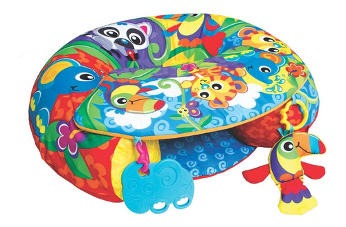 gimnasio inflable bebé playgro sit up and play activity nest