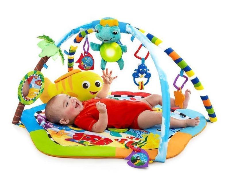 Gimnasio interactivo juegos accesorios juguetes para beb s 1 en mercado libre - Juguetes para bebes de 2 meses ...