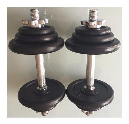 gimnasio juego de pesas de 10 kilos