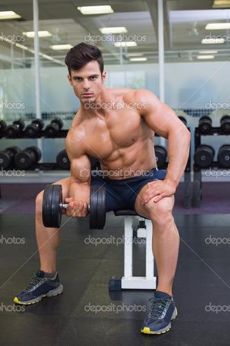 gimnasio juego de pesas de 16 kilos