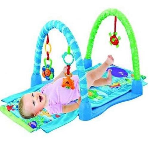 gimnasio manta bebe alfombra didactica fitch baby babymovil