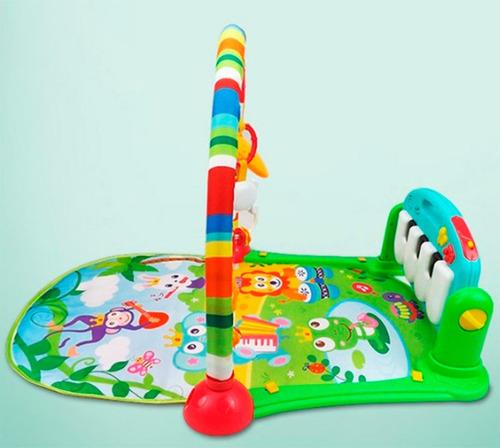 gimnasio manta  bebe con piano musical cici cuotas