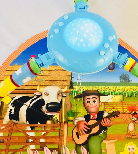 gimnasio manta bebe las canciones de la granja c/proyector