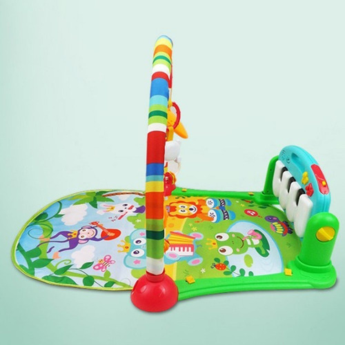 gimnasio manta  bebe piano musical cici babymovil