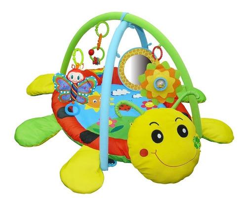 gimnasio manta didactica para bebes biba toys ladybug