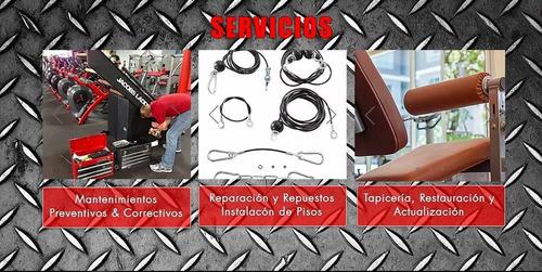 gimnasio, mantenimiento, reparación y venta