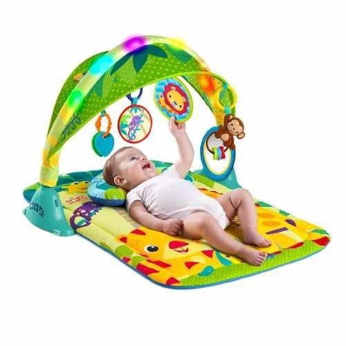gimnasio para bebé  con luces bright starts
