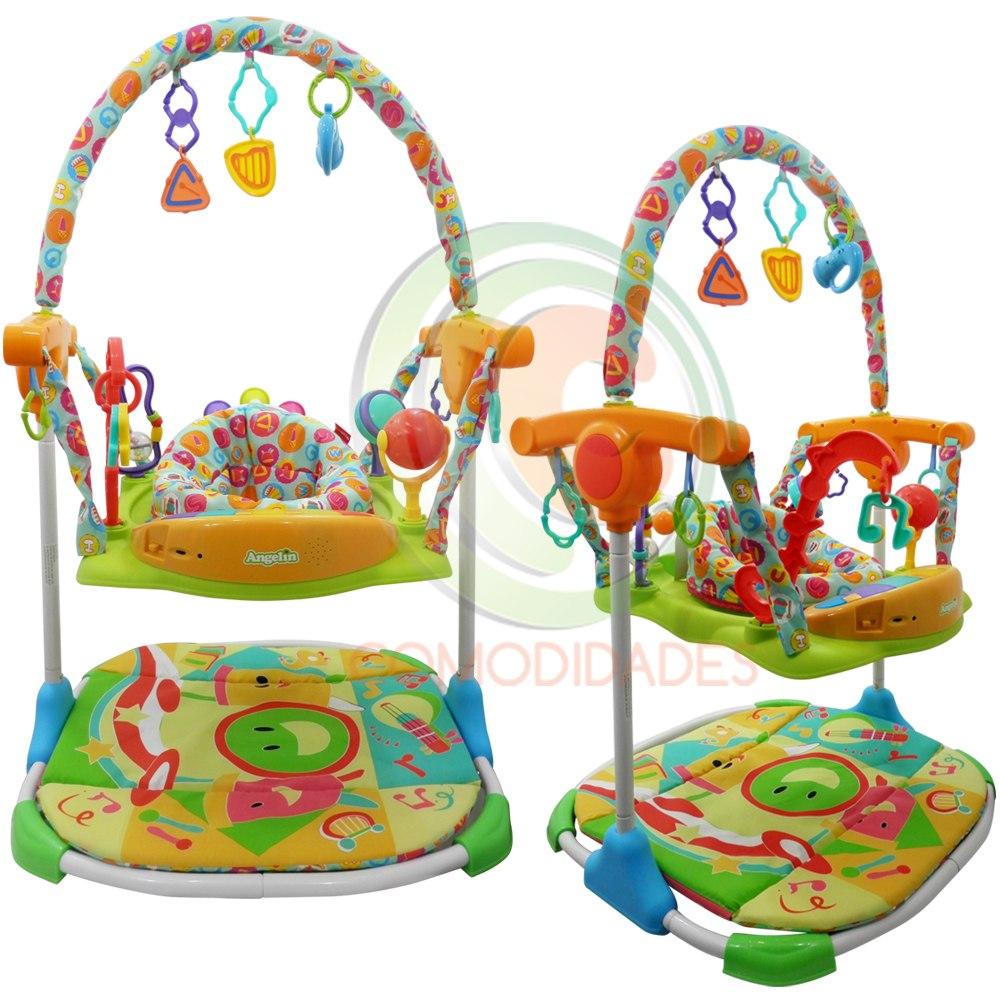 Gimnasio para bebe gira salta con conexi n mp3 ipod wsl for Articulos para gimnasio