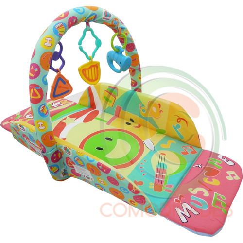 gimnasio para bebe gira salta con conexión mp3 ipod wsl nvd