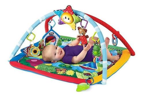 gimnasio para bebes con colchoneta