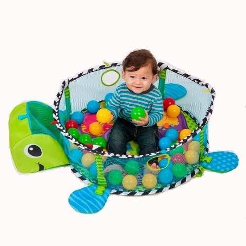 gimnasio pelotero bebe alfombra didactica ok baby