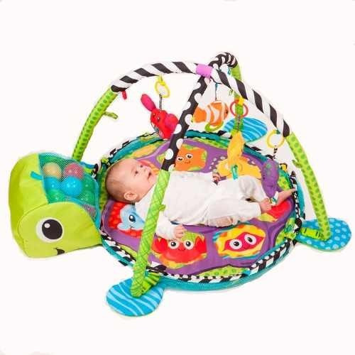 gimnasio pelotero bebe alfombra didactica zippy toys