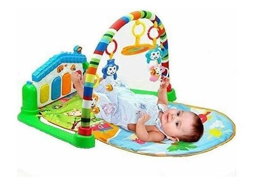 gimnasio piano músical para bebés, didáctico