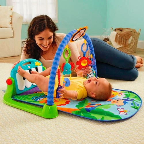 gimnasio piano para bebe