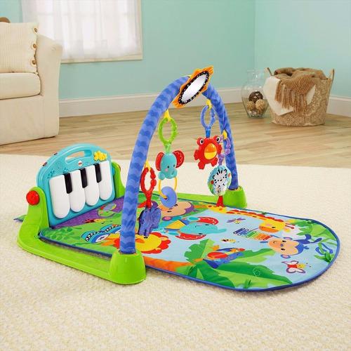 gimnasio piano pataditas musicales azul bmh48 fisher price