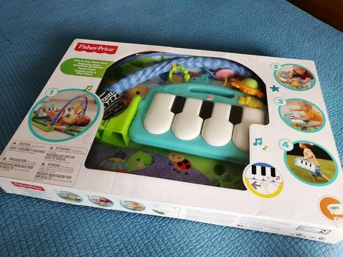 gimnasio piano pataditas musicales. fisher-price