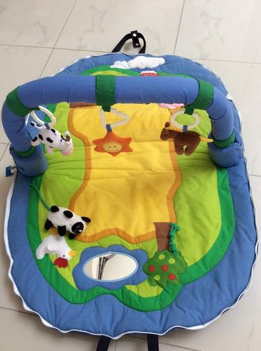 gimnasio portátil para bebé imaginarium