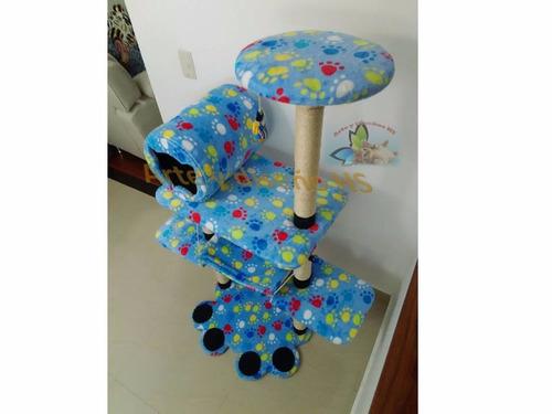 gimnasio rascador para gatos arte y diseño hs