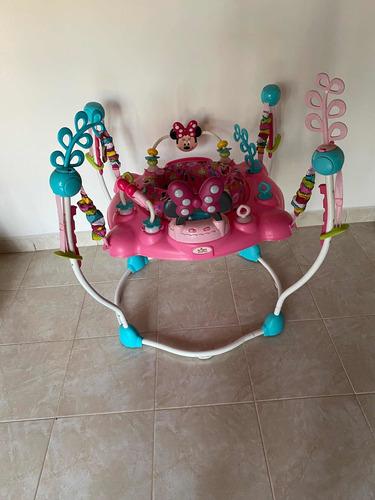 gimnasio saltarín disney baby minnie mouse