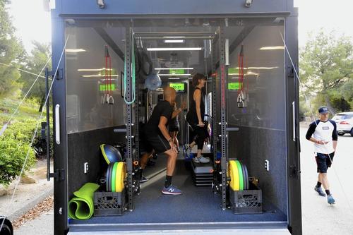 gimnasio sobre ruedas, homologado / patentable legalmente