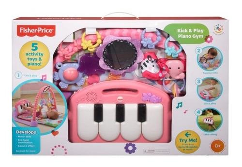gimnasio tapete  para bebé de piano 3 en 1 fisher price